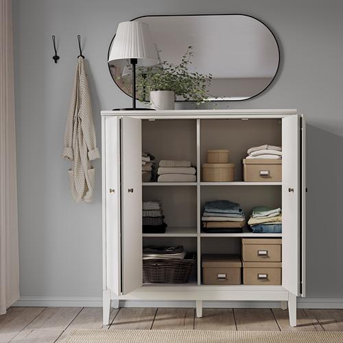 IDANÄS cabinet with bi-folding doors