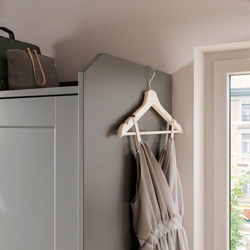 HAUGA гардероб с раздвижными дверями