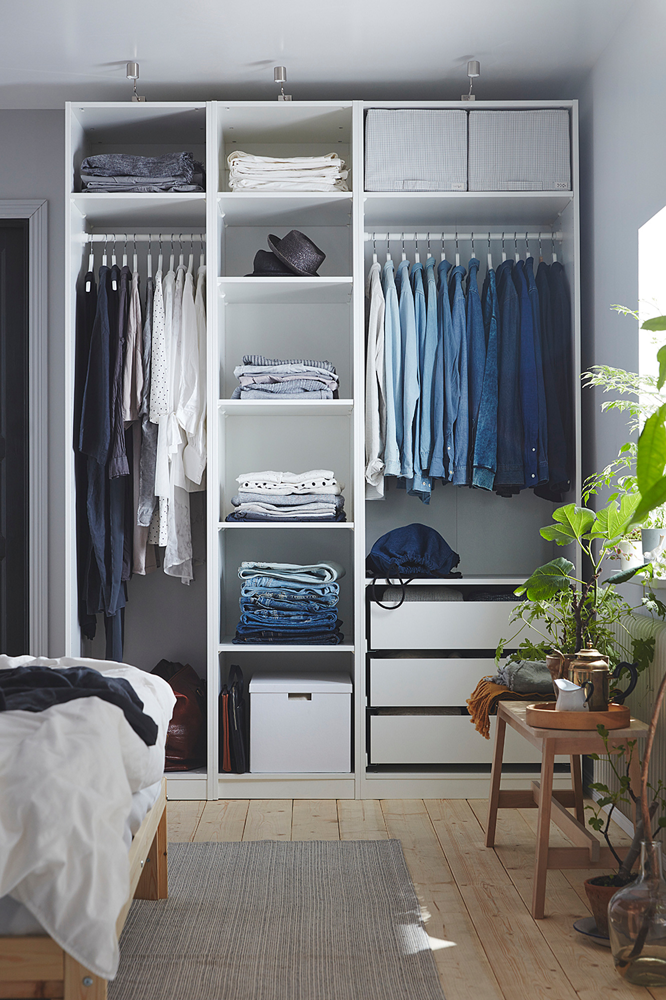 PAX каркас гардероба