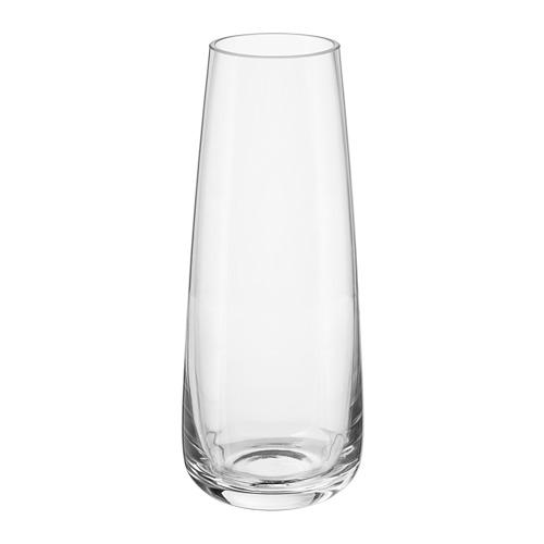 BERÄKNA vāze  15 cm stikls