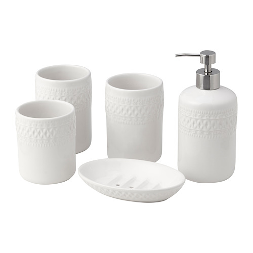 BOASJÖ набор для ванной, 5 предметов