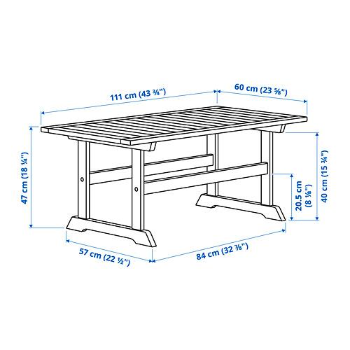 BONDHOLMEN садовый столик