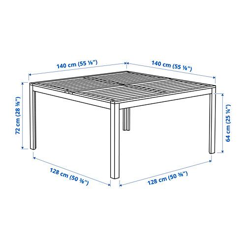 ÄPPLARÖ садовый стол