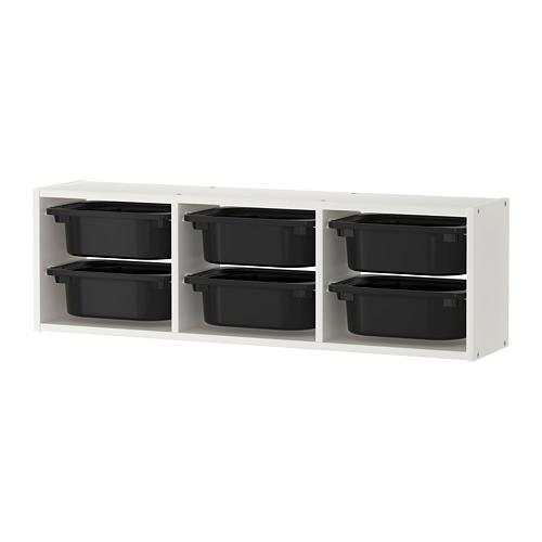 TROFAST wall storage