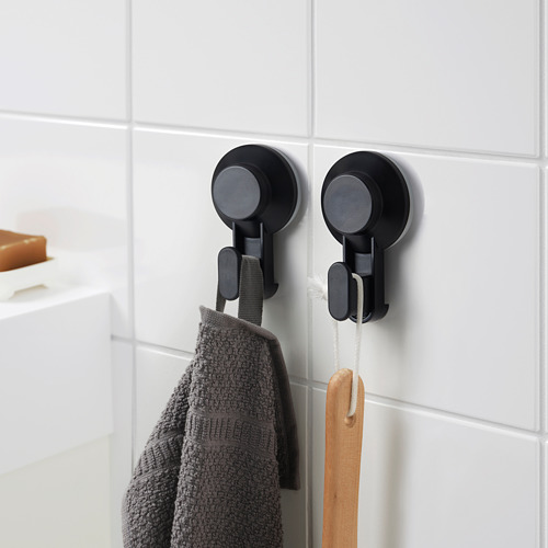 TISKEN hook with suction cup