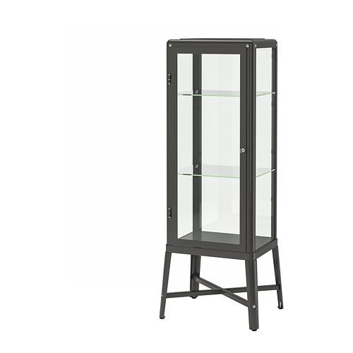 FABRIKÖR spintelė su stiklinėmis durimis
