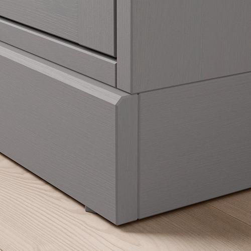 HAVSTA cabinet with plinth
