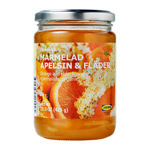 MARMELAD APELSIN & FLÄDER orange- and elderflower marmalade
