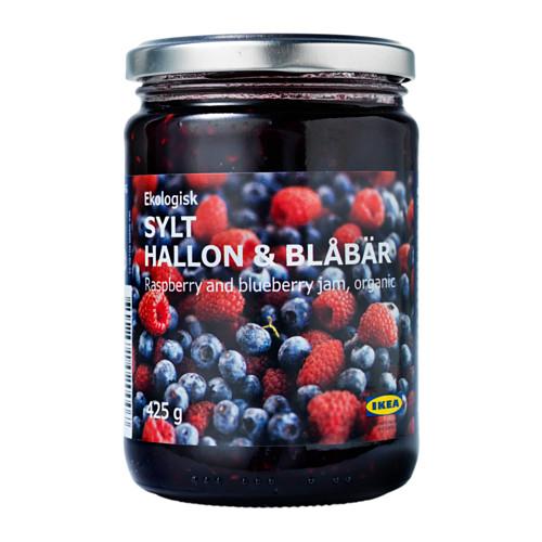 SYLT HALLON & BLÅBÄR джем из малины и черники