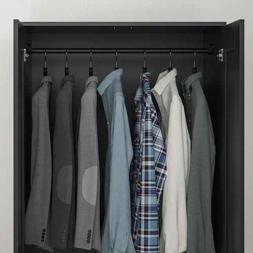 BRIMNES wardrobe with 2 doors