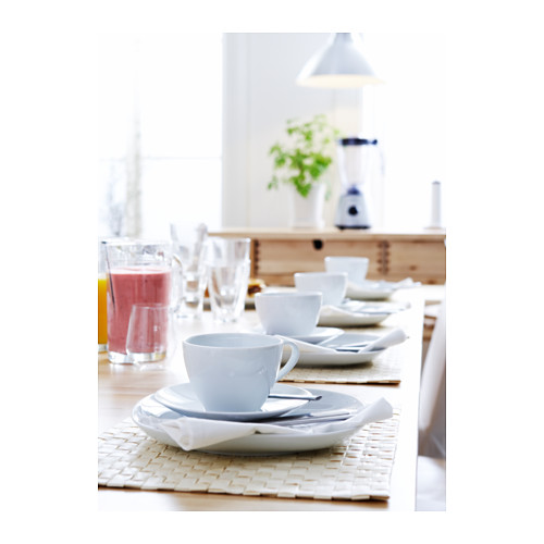 VÄRDERA чашка чайная с блюдцем