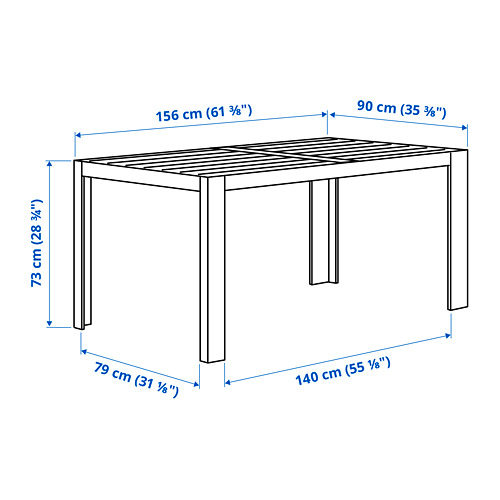 SJÄLLAND table, outdoor