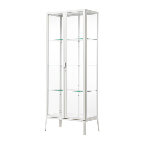 MILSBO spintelė su stiklinėmis durimis