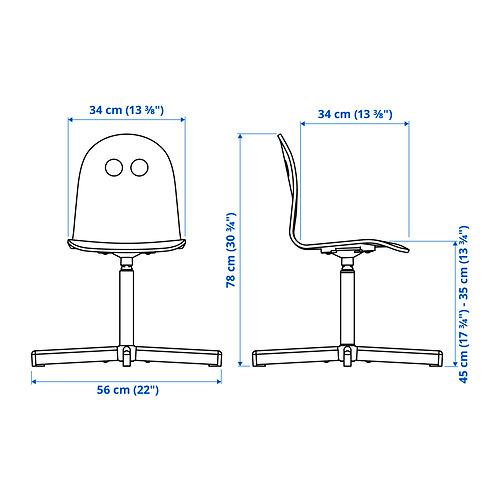 SIBBEN/VALFRED vaikiška kėdė