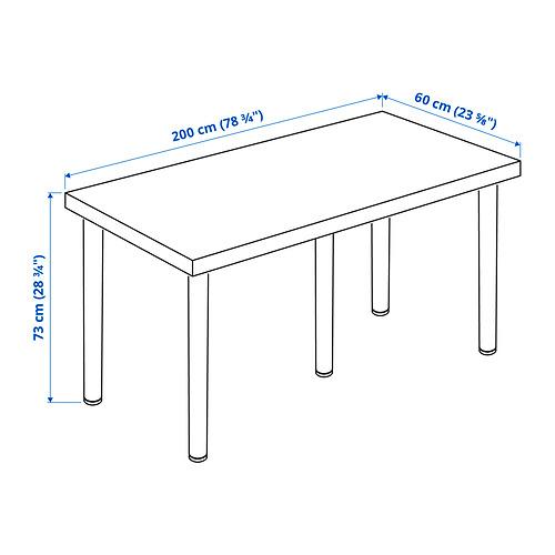 LAGKAPTEN/ADILS письменный стол