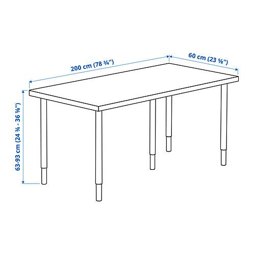 LAGKAPTEN/OLOV desk