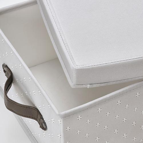 BLÄDDRARE box with lid
