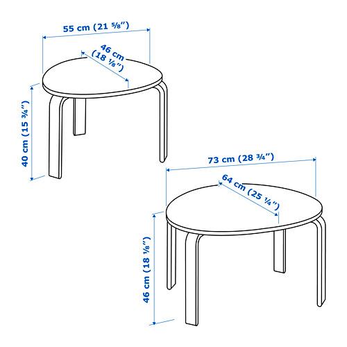 SVALSTA staliukų rinkinys, 2 vnt.