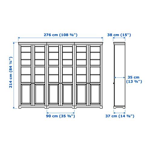 LIATORP комбинация для хранения с дверцами