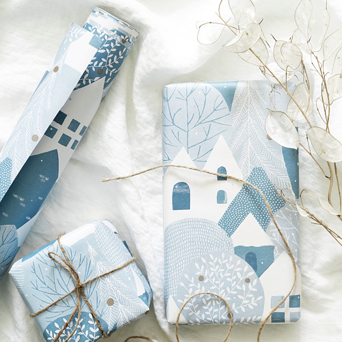 VINTER 2020 gift wrap roll