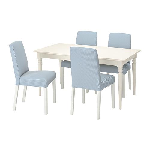 INGATORP/BERGMUND stalas ir 4 kėdės