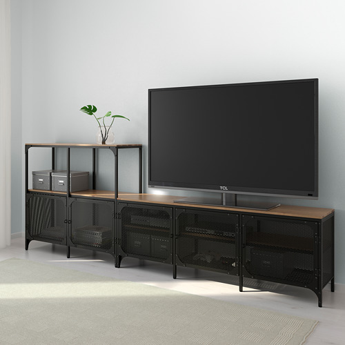 FJÄLLBO TV storage combination