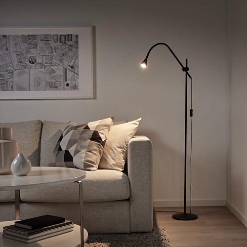 NÄVLINGE светильник напольный, светодиодный