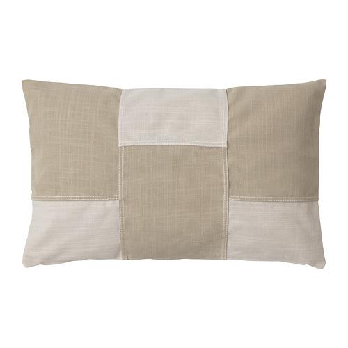 FESTHOLMEN, spilvena pārvalks 65x40 cm lietošanai telpās vai ārā/gaišā smilškrāsā smilškrāsā
