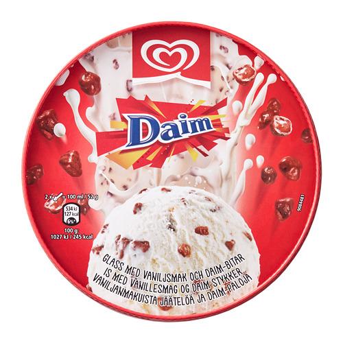 DAIM vanilla ice cream w Daim pieces