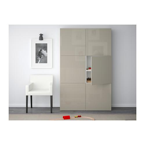 BESTÅ комбинация для хранения с дверцами