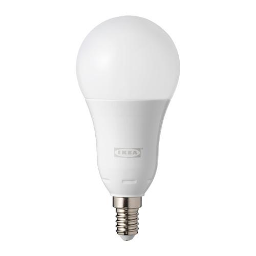 TRÅDFRI LED lemputė E14 600 liumenų