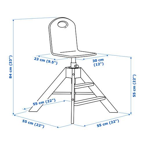 GRÅVAL vaikiška kėdė
