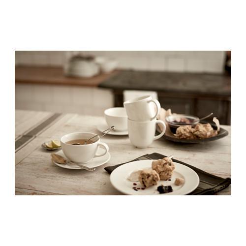 VARDAGEN чашка чайная с блюдцем