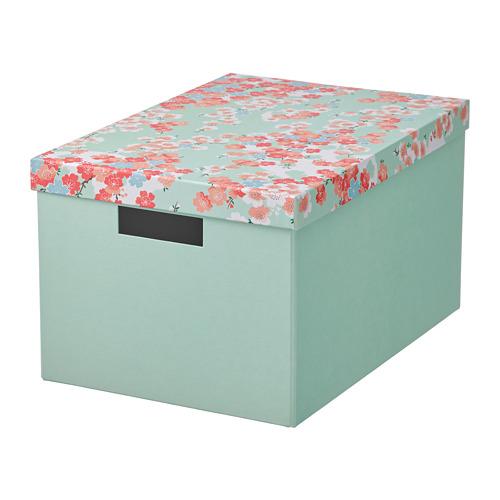 TJENA коробка с крышкой