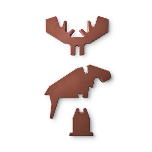 BELÖNING лось из молочного шоколада