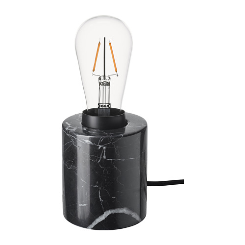 MARKFROST/LUNNOM table lamp with light bulb
