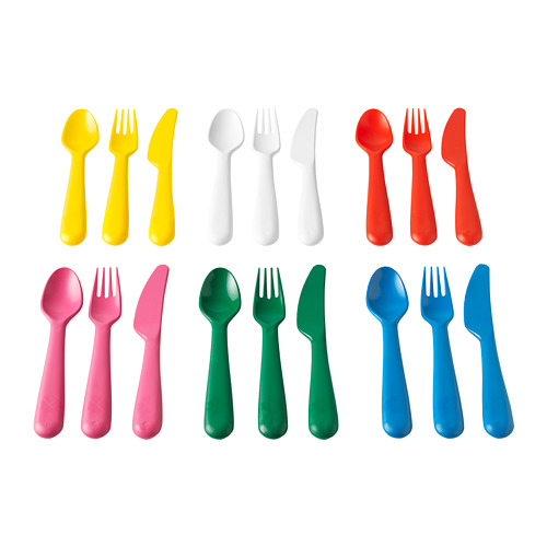 KALAS 18-piece cutlery set