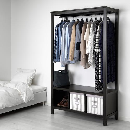 HEMNES open wardrobe