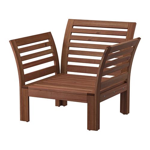 ÄPPLARÖ armchair, outdoor