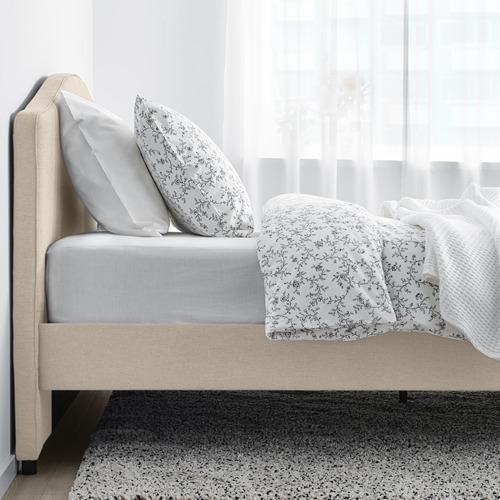 HAUGA каркас кровати с обивкой