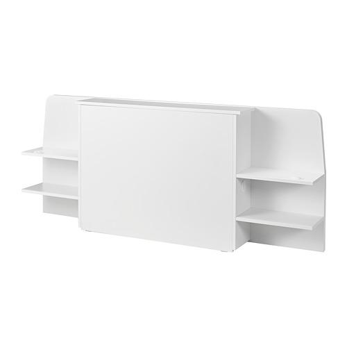 ASKVOLL headboard with storage compartment