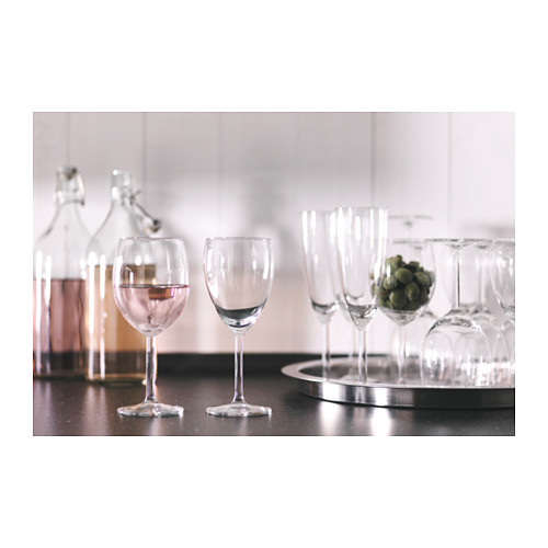 SVALKA wine glass