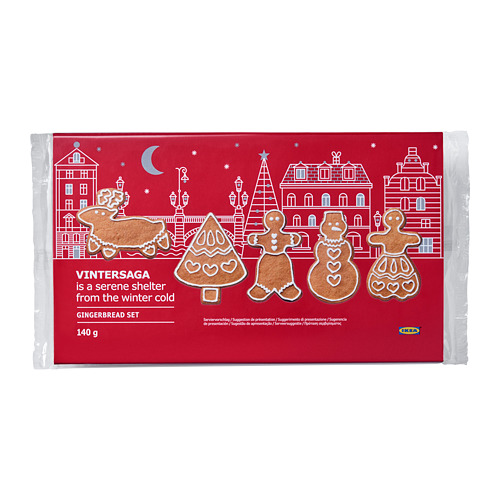 VINTERSAGA gingerbread set