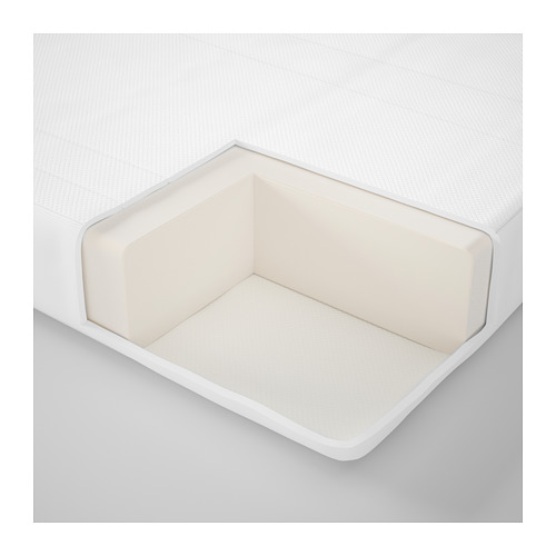 NATTSMYG foam mattress for extendable bed