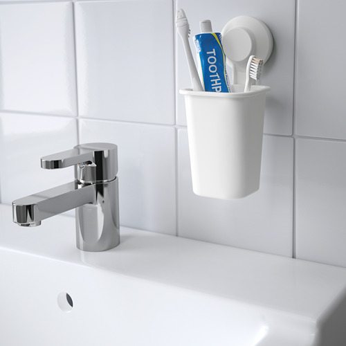TISKEN toothbrush holder with suction cup