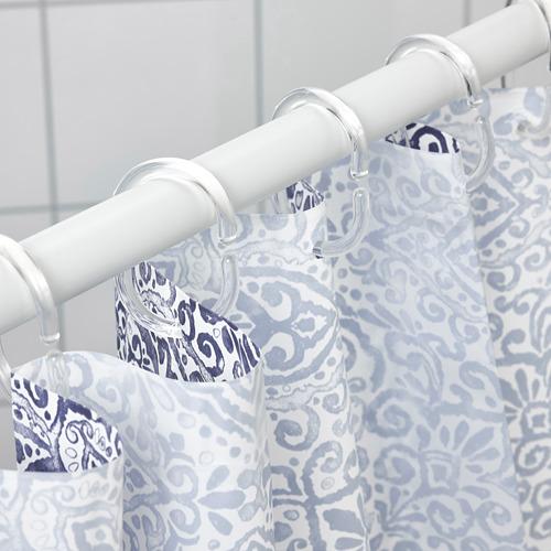 ÄNGSKLOCKA shower curtain