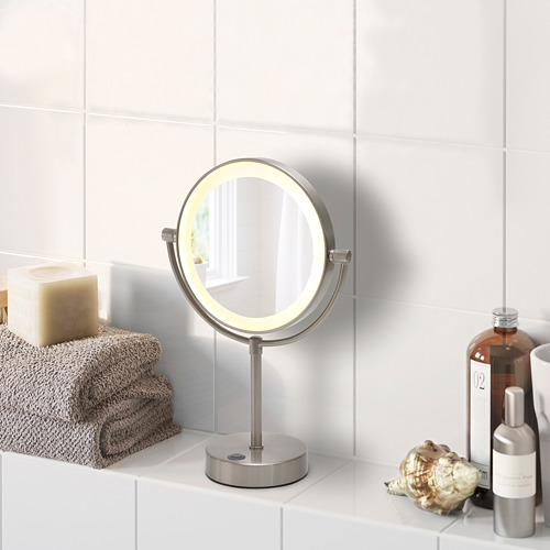 KAITUM mirror with integrated lighting