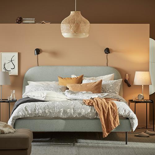 VADHEIM upholstered bed frame