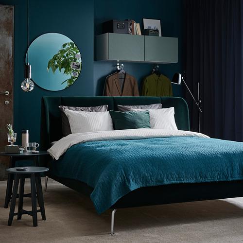 TUFJORD upholstered bed frame
