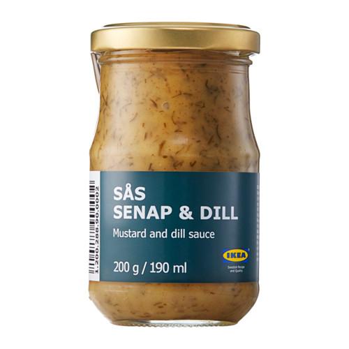 SÅS SENAP & DILL соус с горчицей и укропом